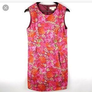 ✨🌺 Michael Kors floral pink dress sz . 2